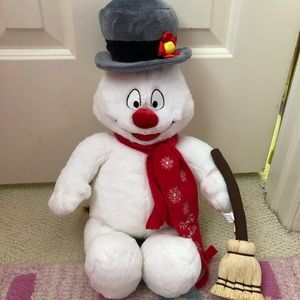 Build a Bear Frosty the Snowman and Accessories